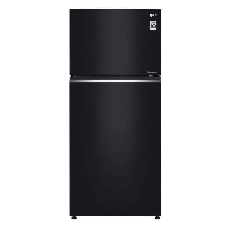 LG GT-T5107BM 2 Door Refrigerator (Gross 547L) Top Freezer - Lion City Company