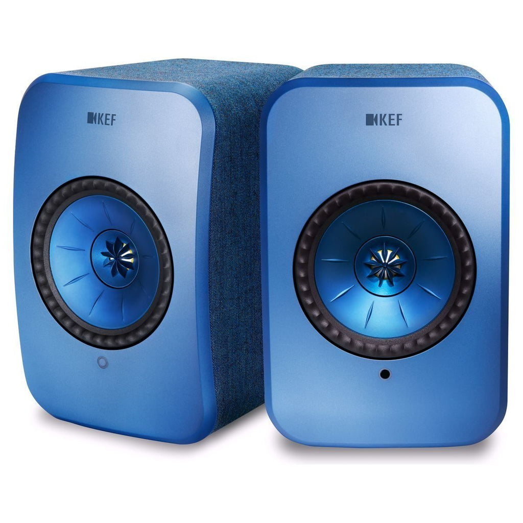 KEF SP3994CX LSX Wireless Mini Monitor, BOOKSHELF Speakers Blue