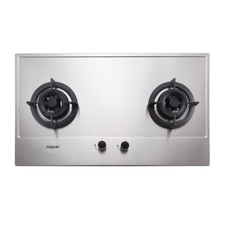 Mayer MMSS772 2 Burner Gas Hob + MMBCH900 Chimney Hood + MMDO8 Built-In Oven - Lion City Company
