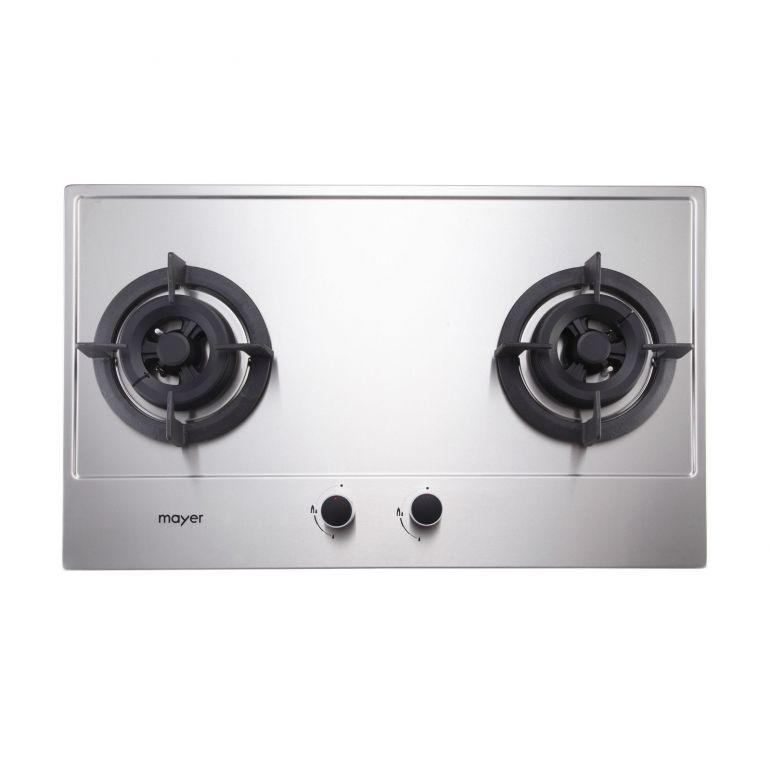 Mayer MMSS882 2 Burner Gas Hob (86cm) + MMBCH900 Chimney Hood