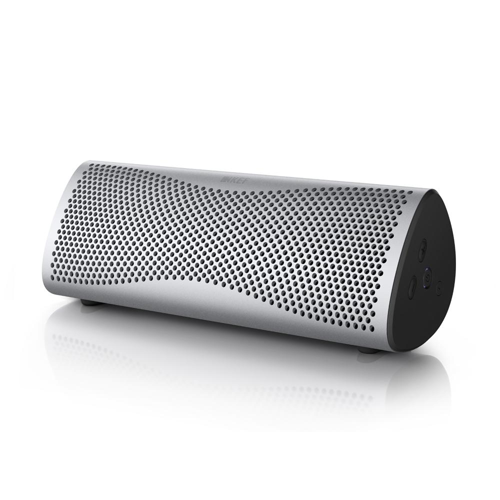 KEF Muo Light Silver BT Speaker - Lion City Company