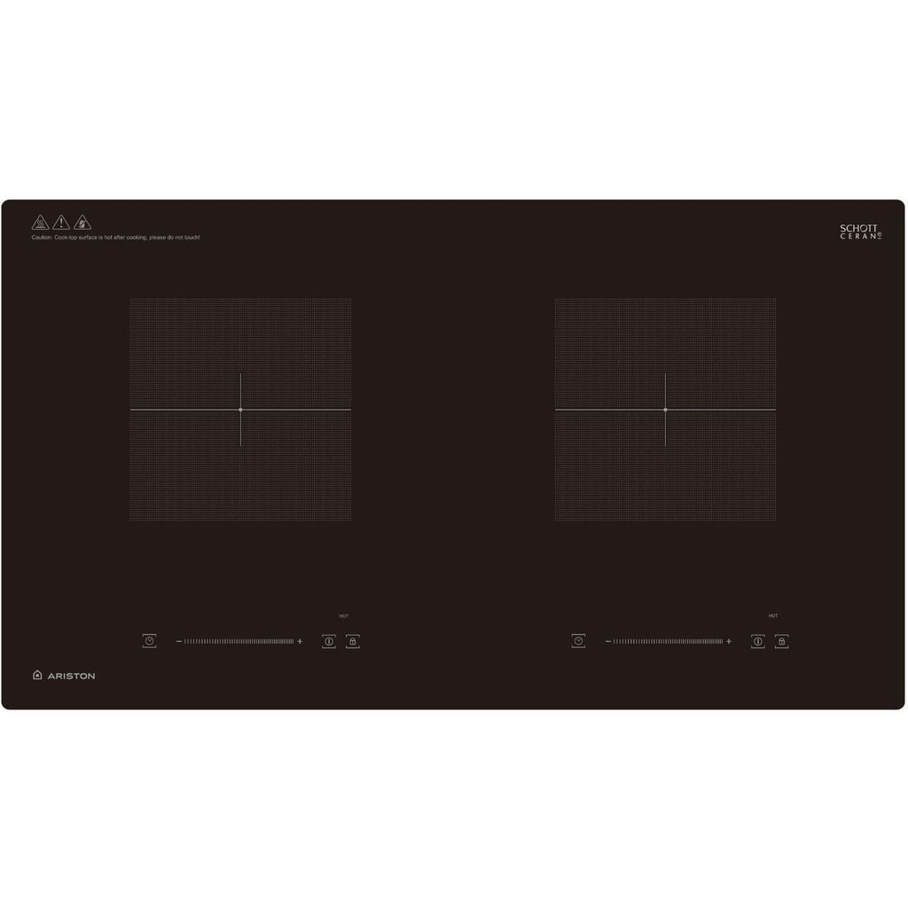 ARISTON NIG720BS 2 ZONE INDUCTION HOB (73CM)