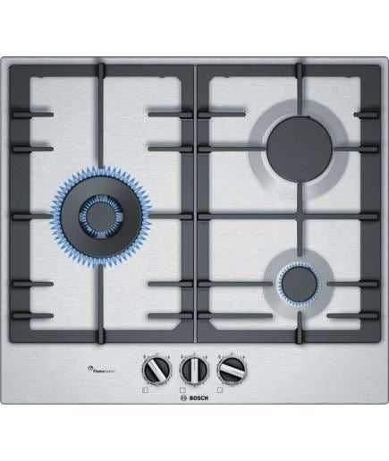 Bosch PCC6A5B90 Serie | 6 60 cm Gas Stainless Steel Hob - Lion City Company