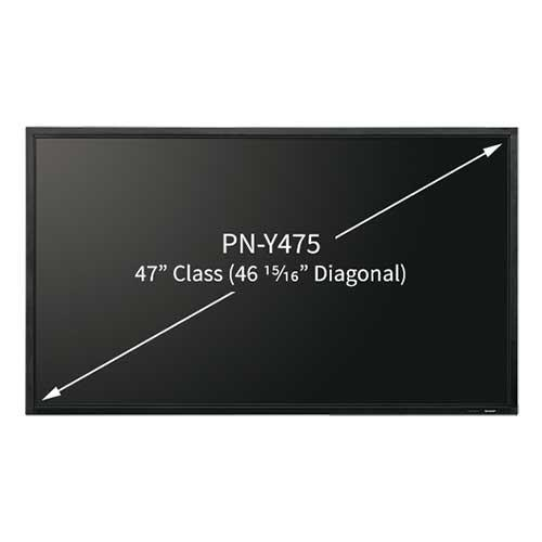 Sharp 47 inches Professional LCD Monitor PNY475 (Contact For Price) - Lion City Company