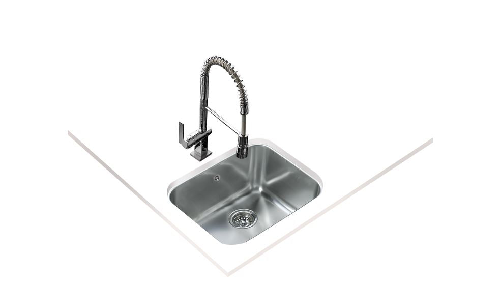 Teka BE 50.40 PLUS Undermount Stainless Steel Sink with one bowl