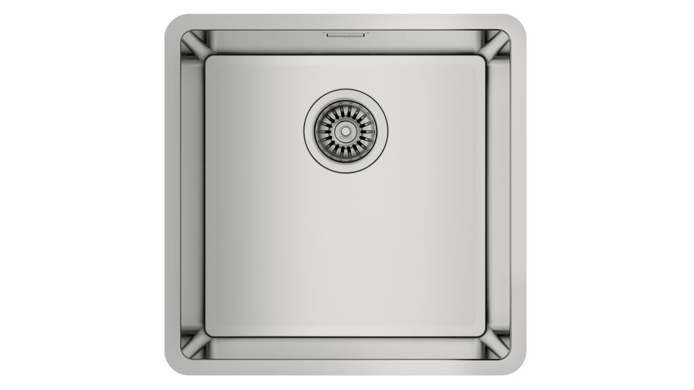 Teka BE LINEA RS15 40.40 Undermount Stainless Steel Sink with one bowl