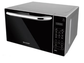 SHARP MICROWAVE OVEN WITH GRILL R-62E0(S)