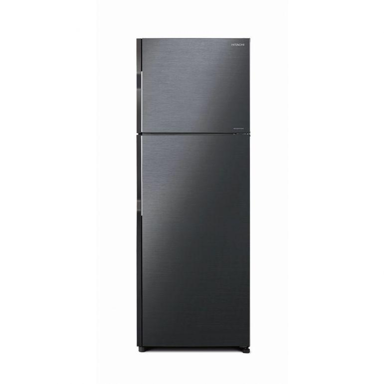 Hitachi RH350P7MS - BSL / BBK 290L 2-Door Top Freezer Refrigerator - Brilliant Black