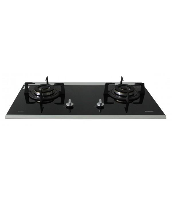 Rinnai RH-90ER/i (MS,G,S) Cooker Hood + RB-7502D-GBS - 2 Burner Gas Hob - Lion City Company