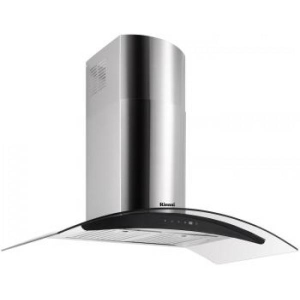 Rinnai RH-C209-GCR Chimney Cooker Hood + RB-7302S-GBS 2 Burner Gas Hob