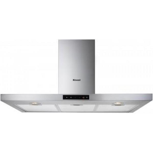 Rinnai RH-C249-SSR Chimney Cooker Hood + RB-93US Stainless Steel Hob