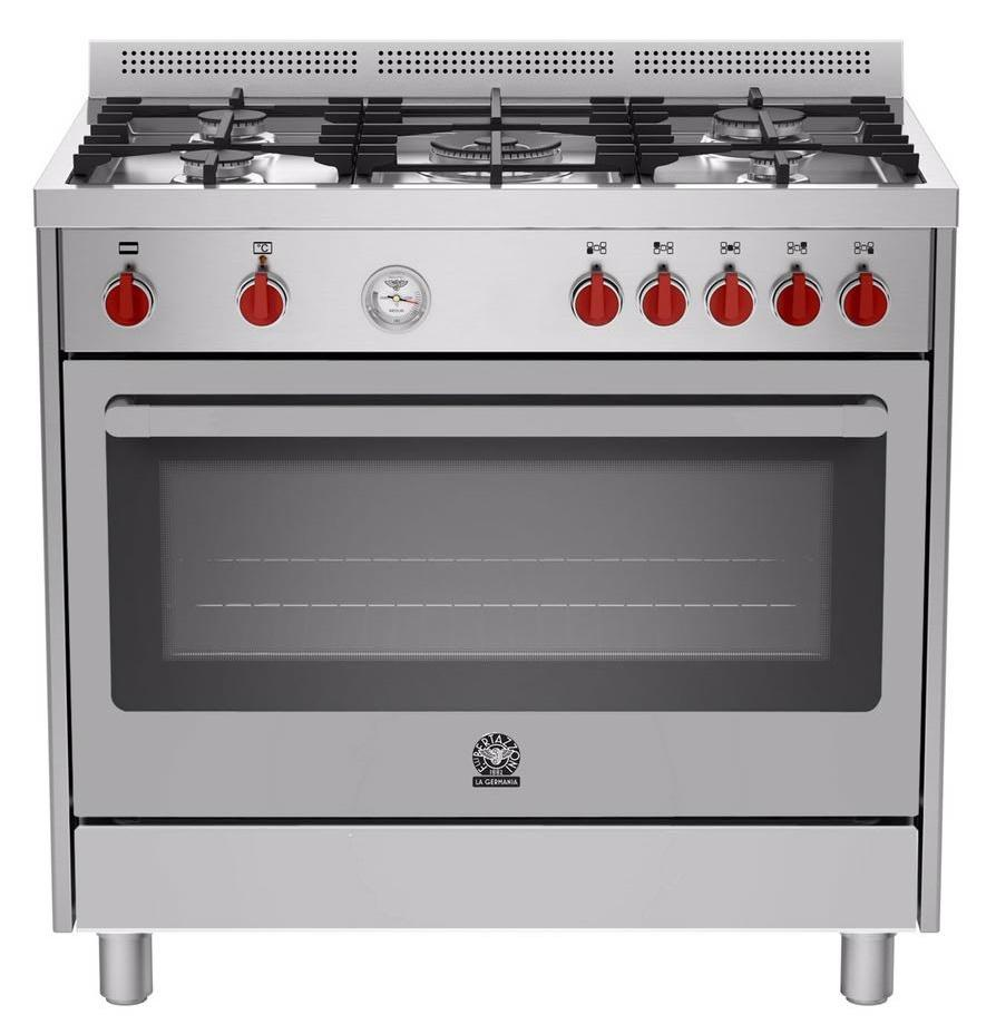 LA GERMANIA Freestanding Cooker with Electric Oven RIS95C 61L BX