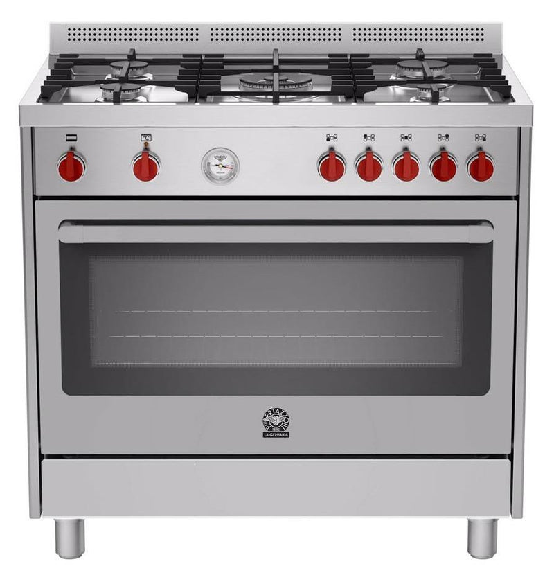 LA GERMANIA Freestanding Cooker with Electric Oven RIS95C 61L BX - Lion City Company