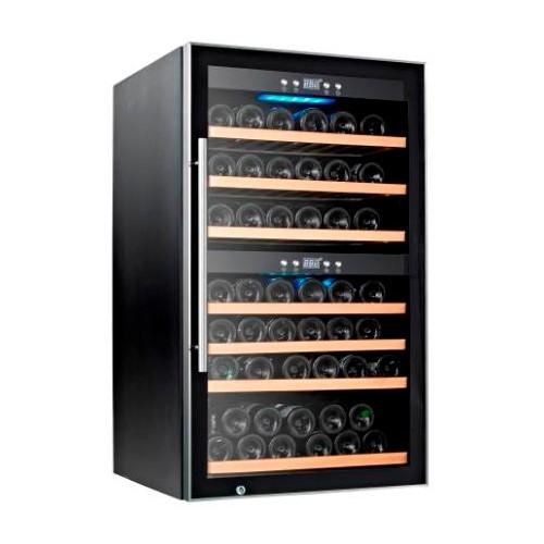 Tecno 66-80 Bottles Wine Chiller with Dual Temperature Zone SW-66 - Lion City Company