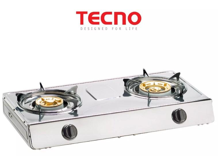 Tecno Double Burner Stainless Steel Table Cooker TTC F8SV