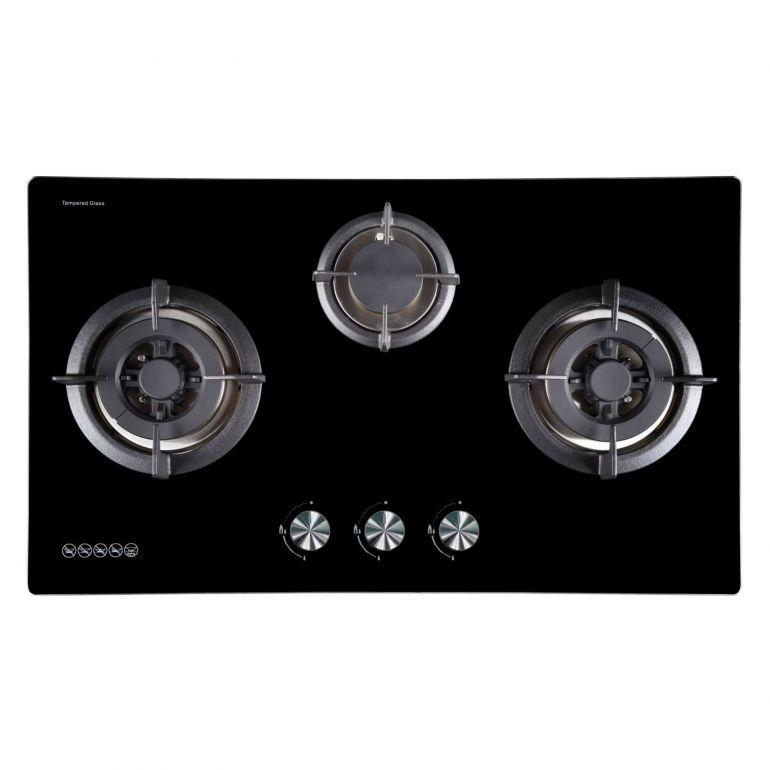 Ariston TH731D2/AB 76cm 3 Gas Burner Hob