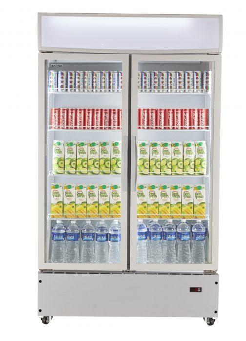 Kadeka KSC-1100W2 Upright Chiller Showcase 2 Doors