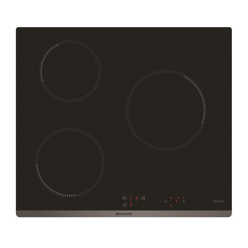 Brandt 3 Zones 60cm Induction Hob BPI6309B - Lion City Company