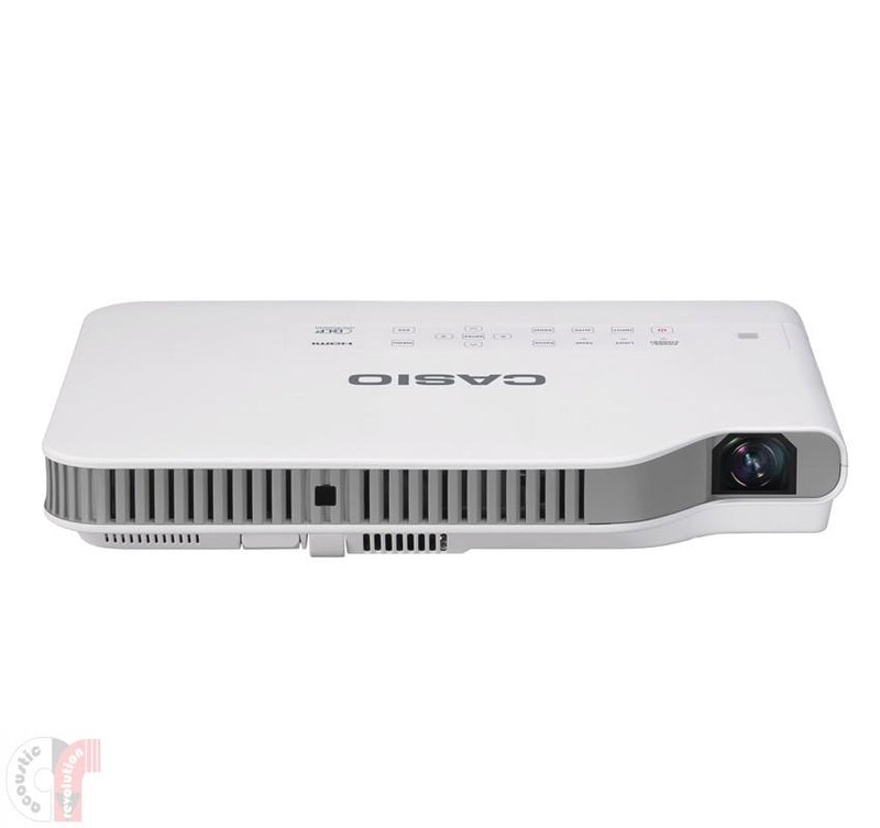 Casio LampFree Ultra-Portable Wireless Projector XJA257 - Lion City Company