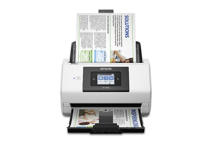 Epson DS780N Network Color Document Scanner