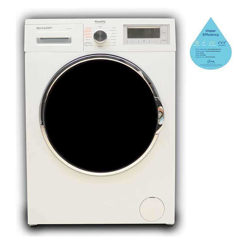 Sharp 9/6kg Front Load Washer/Dryer ESVD900
