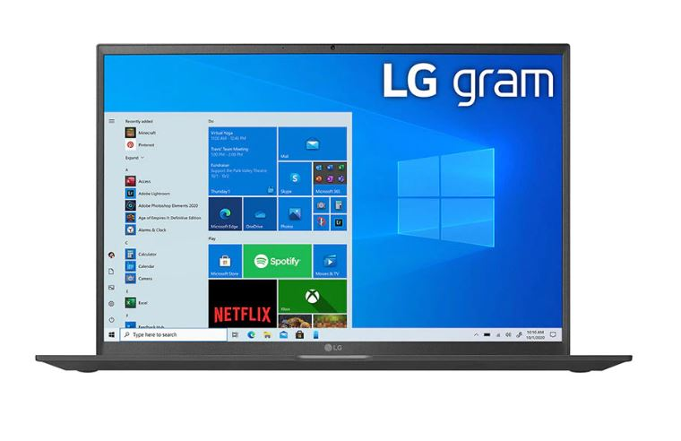 LG 16Z90P-G.AA75A3 16.0'' Laptop with 11th Gen Intel® Core™  i7 Processor and Thunderbolt™ 4