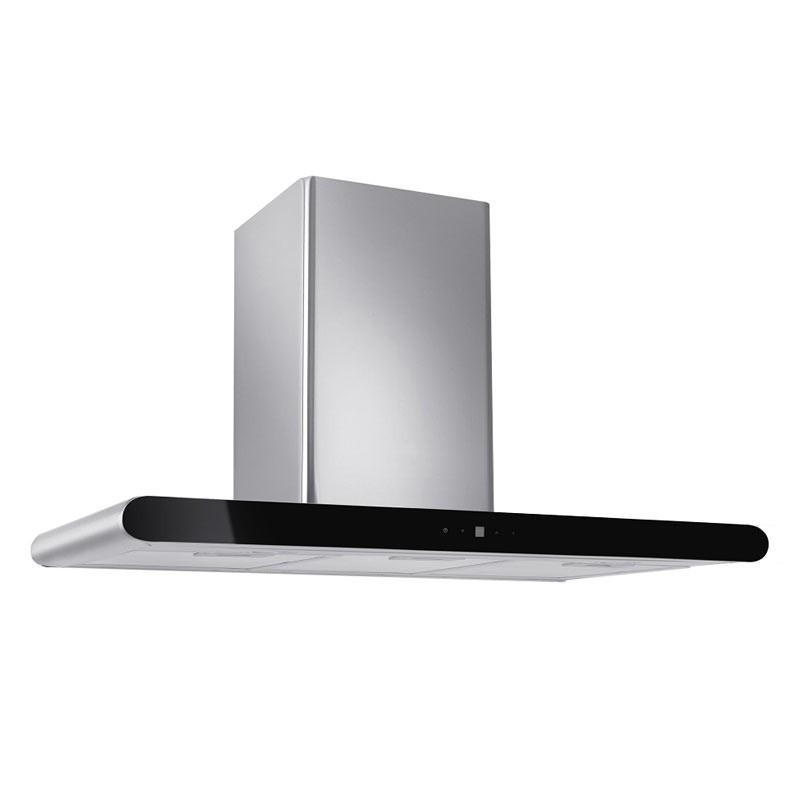 Tecno 90cm Round Profile Chimney Hood with LED Sensor Touch Controls KA 9008 - Lion City Company