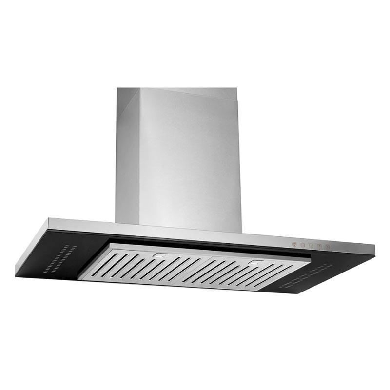 Tecno 90cm High Line Chimney Hood with Decorative LED Lights KA 9228 - Lion City Company