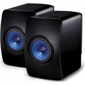 KEF LS50W Wireless Bluetooth Stereo Speaker BLACK SP3903BA/BB