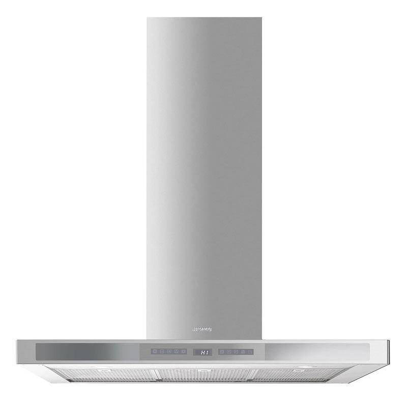 Smeg 90cm Chimney Hood Stainless Steel with Silver KS912XE