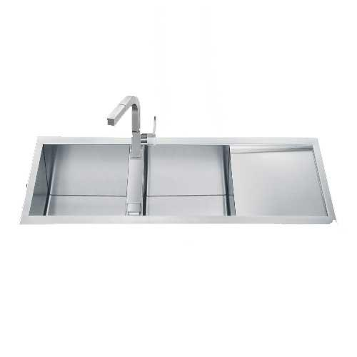 Smeg Double Bowl Kitchen Sink LQR1162