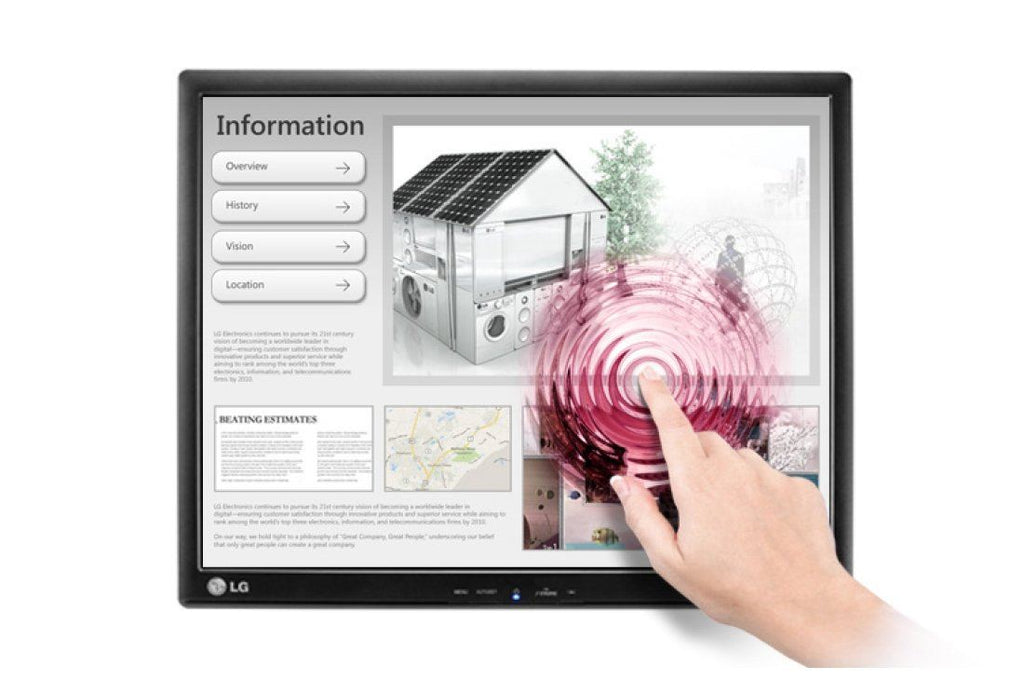 "LG 19MB15T-I 19"" Touch Screen Monitor"