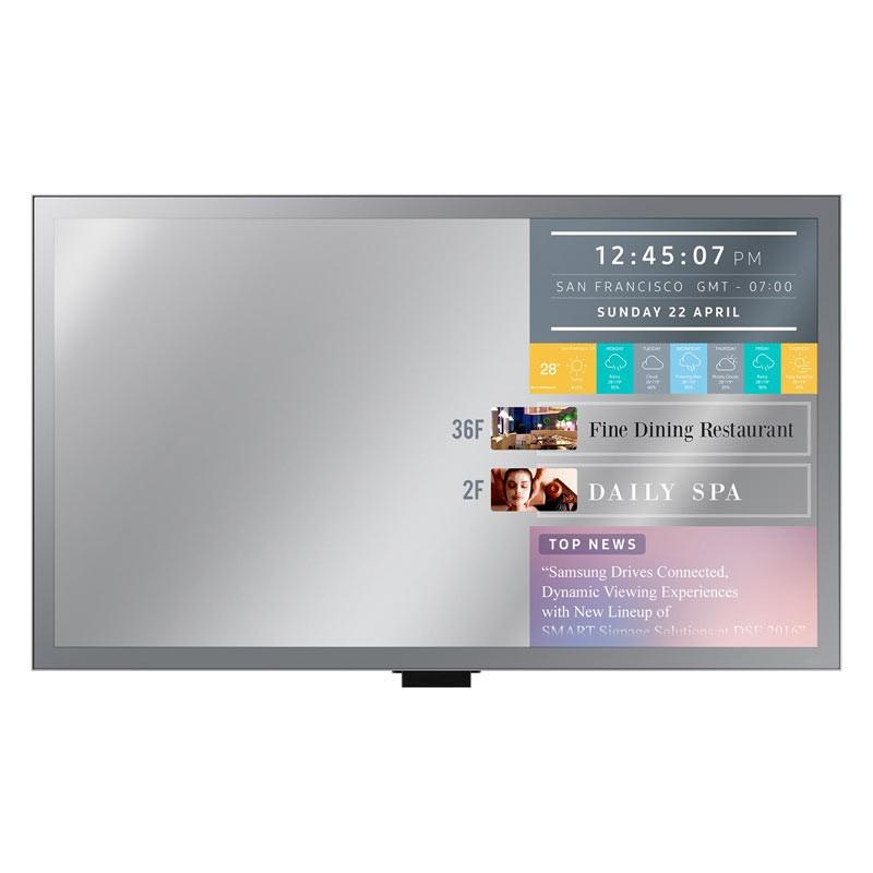 Samsung ML32E 32 inch. LED Mirror Display Smart Signage LH32MLEPLSC/XS