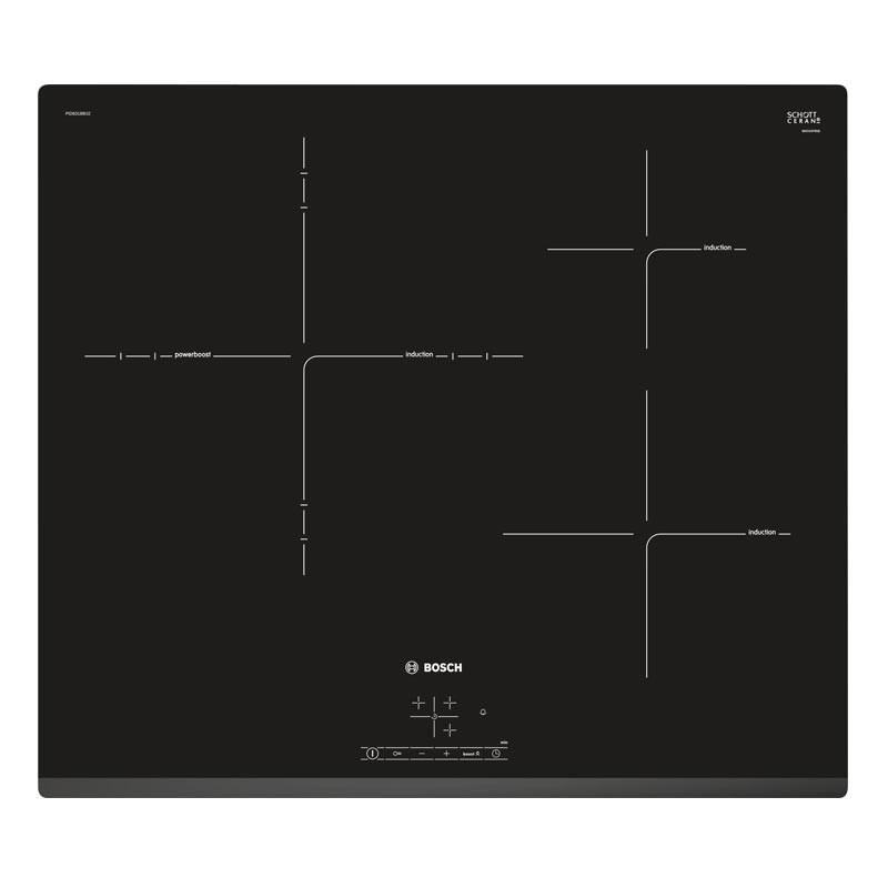Bosch 60cm Serie 4 Induction Ceramic Hob PID631BB1E