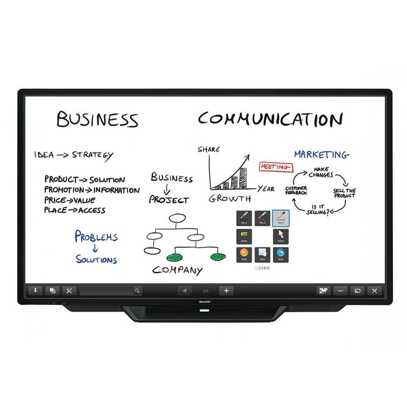 Sharp 80 inches Interactive Whiteboard PN80TC3