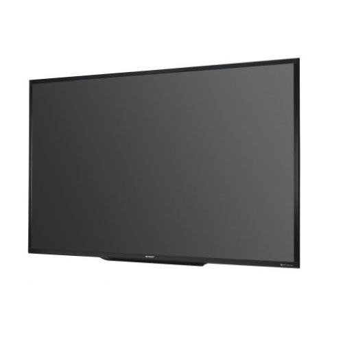 Sharp 80 inch. Widescreen LCD Signage Displays PNQ801 - Lion City Company