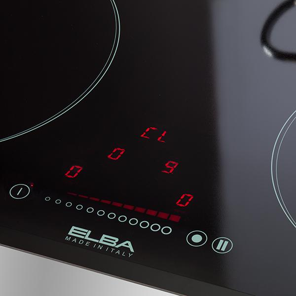 Elba 60cm, 3 zones Built-in induction hob, 6.7kW E345003I