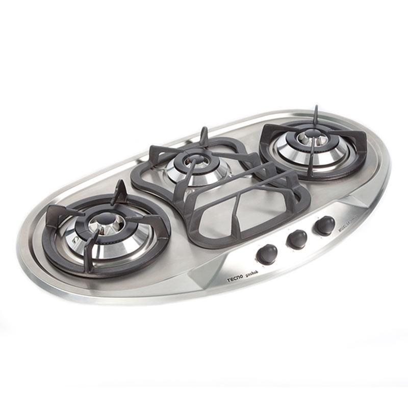 Tecno Designer's Hob With Safety Valves SR 398SV S/S - Lion City Company