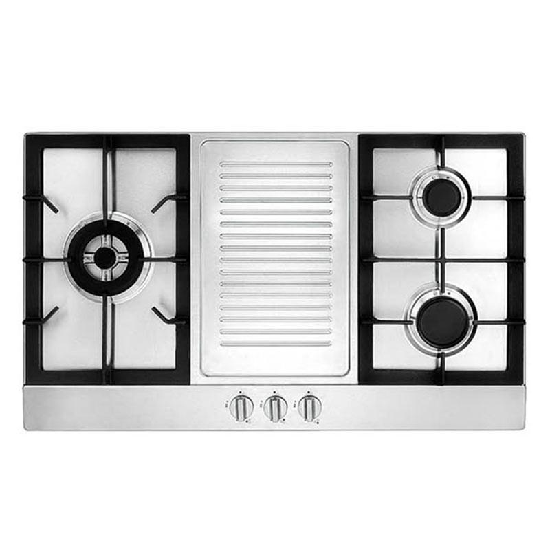 Tecno 90cm Stainless Steel Built-In Hob TA 983TR / TA 983TRSV - Lion City Company