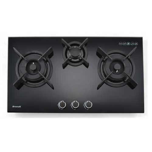 Brandt 80cm 3 Burner Gas Hob TG1483B - Lion City Company
