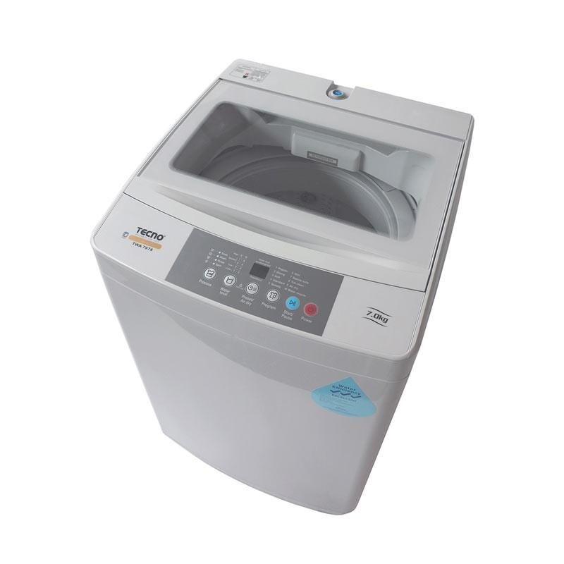 Tecno 7kg Top Load Fully Automatic Fuzzy Logic Washing Machine TWA 7078