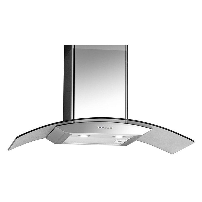 UNO 90cm Glass Chimney Hood UP 9608 - Lion City Company