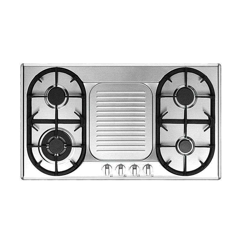 UNO 90cm 4 Burners Built-In Hob with Safety Valve UP9800TRSV