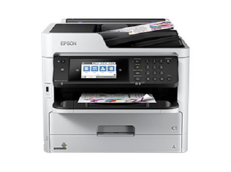 "Epson WorkForce Pro WFC5790 Print Color/Scan/Copy/Fax/ADF 50s/ 4.3"" Color Touchscreen"