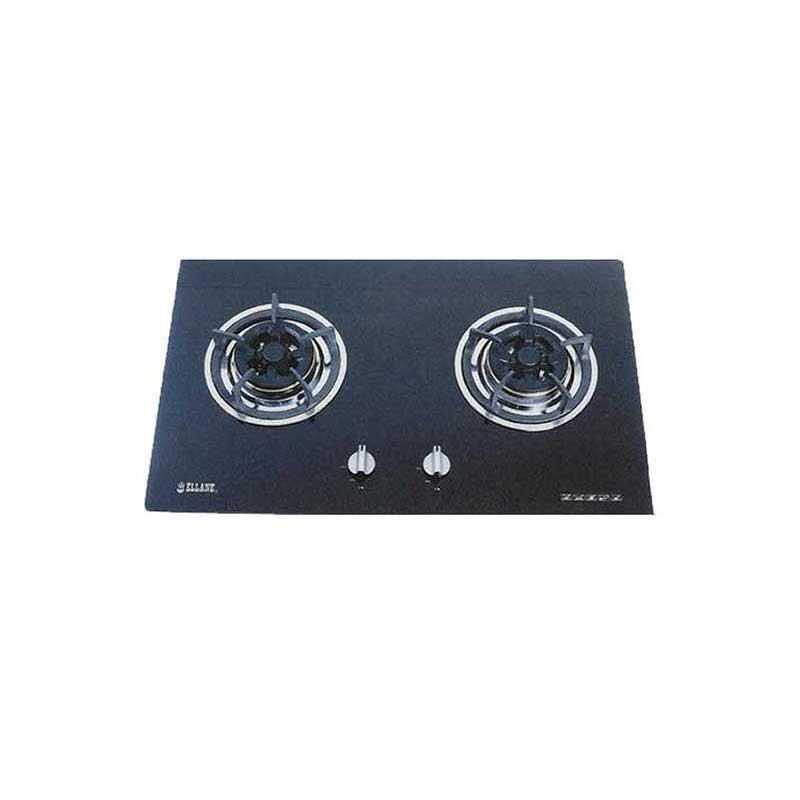 Ellane Built in Glass Hob w/ Safety Valve WG2SV - Lion City Company