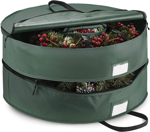 Double Artificial Christmas Wreath Storage Bag 36