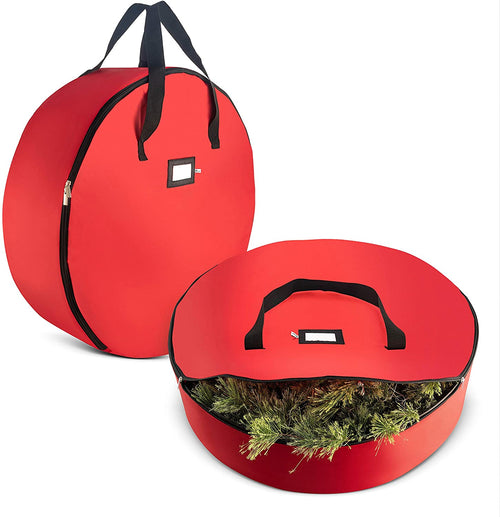 2-Pack Artificial Christmas Wreath Storage Bag 36