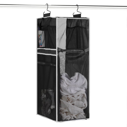 2020 Innovation Hanging Mesh Laundry Hamper and Storage