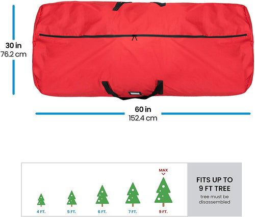 Round Artificial Tree Storage Bag for 9 ft Tree, 30