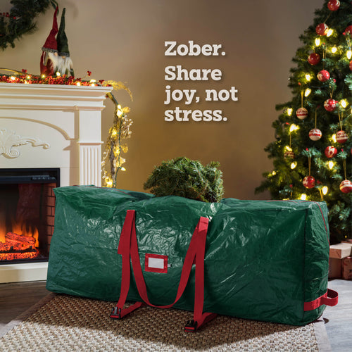 Rolling Large Christmas Tree Storage Bag - Fits Upto 9 ft.
